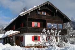 Haus an der Kräuterwiese im Winter