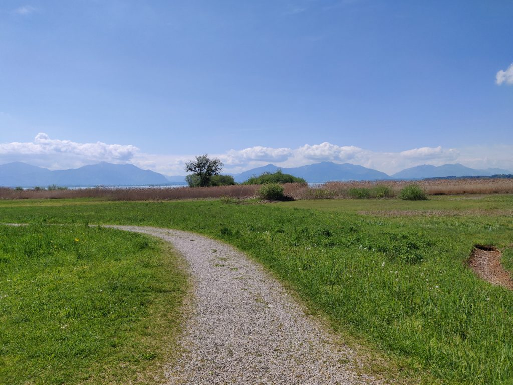 Radweg Chiemsee